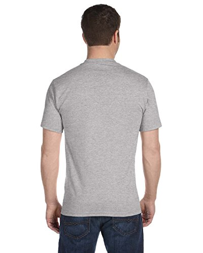 Hanes Big & Tall Beefy-T Adult Short-Sleeve T-Shirt, Light Steel, XTRA TALL Hanes Youth Short