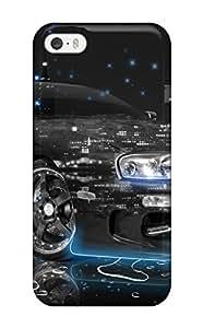 New Toyota Supra 27 Tpu Case Cover, Anti-scratch YuShqDV3266wzKab Phone Case For Iphone 5/5s(3D PC Soft Case)