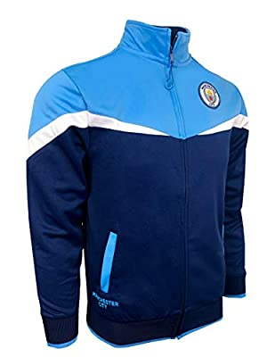 Icon Sports Manchester City Jacket, M. City Football Track Jacket