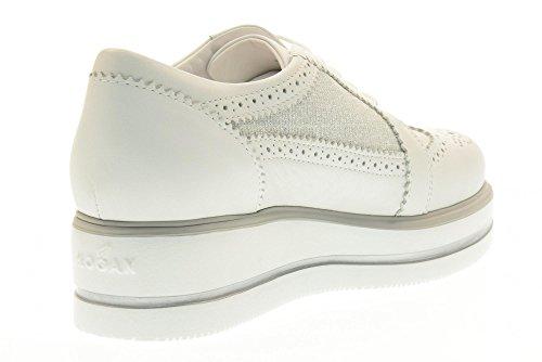 de zapatos HOGAN atada Color mujer H323 Blanco HXW3230X670FQ70906 485q1w5d