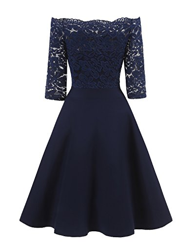 Lace Cocktail Evening Party Dress