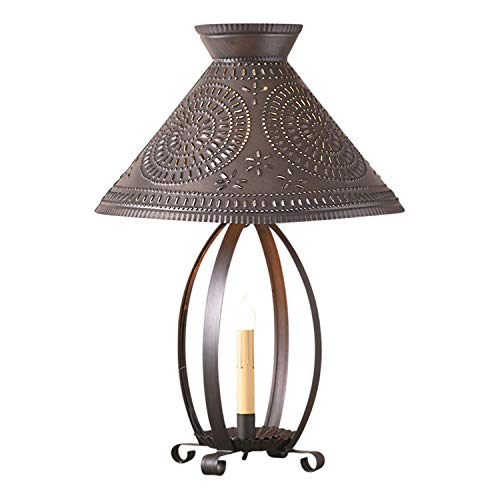 - Irvin's Tinware Betsy Ross Lamp with Chisel Shade 22