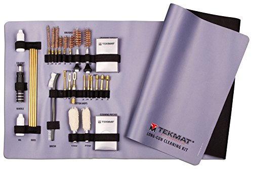 TekMat 28Piece Universal Rifle & Shotgun Cleaning Kit