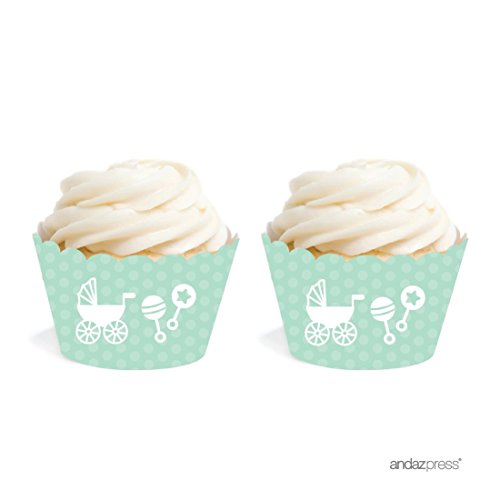 baby shower cupcake papers - 6