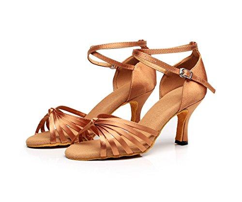 Zapatillas Dance7113b mujer de para Honeystore danza SpdwFxfx