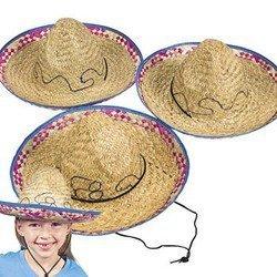 Child's Sombrero Hat (1 Dozen) - Bulk