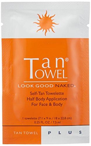 Tan Towel Self Tan Towelette Plus, 50 Count by Tan Towel (Image #2)