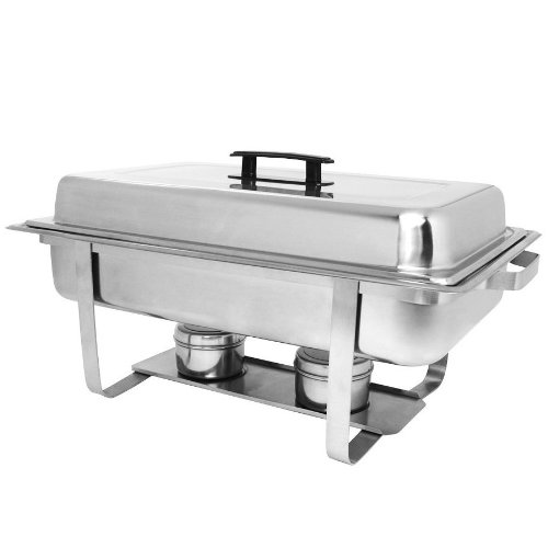 - 8 Qt. Stainless Steel Economy Chafer