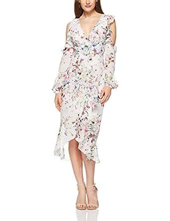 Cooper St Women's Titania Cold Shoulder Dress, Print, 8