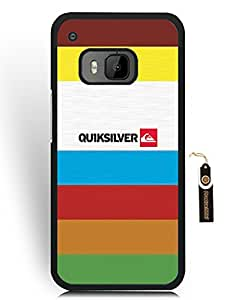 Htc One M9 Funda Case Quiksilver Famous Brand Logo - Htc One M9 Funda Case for Boy Hard Plastic Case Cover