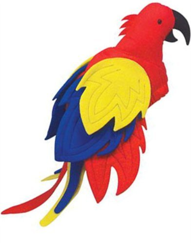 [Jimmy Buffet Coral Reefer Band Parrothead Parrot Hat] (Pirate Halloween Costumes Ideas)