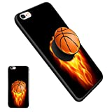 iPhone 6/6S Basketball Case, Unique Soft Ultralight Slim Cover, Newest Thin Anti-Drop TPU Protective Case with Pop Mount Stand Integrative for iPhone 6/6S(4.7 Inch) - Basketball05
