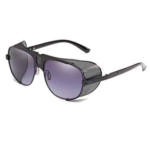 Protection Steam Eyewear Gray UV400 Sunglasses Punk Cool Vintage Goth Gradient Rave Cyber Goggles d6xS1Xdwq