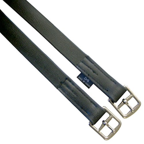Exselle Leathers Beta Stirrup, Black, 54-Inch