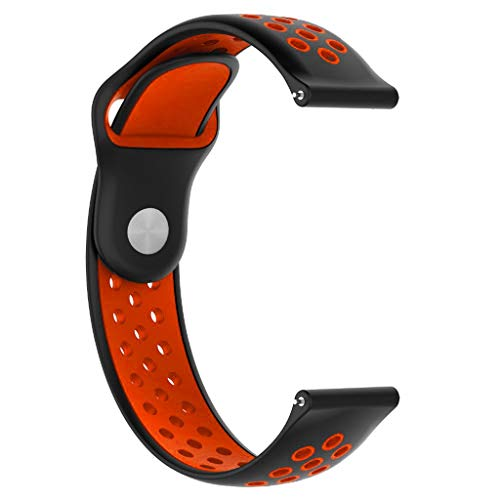 ( Orcbee  _Fashion Silicone Sports Replacement Watch Band Wrist Strap for Huawei Watch GT (Red) )