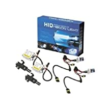 HELIO Hid H1 6K Hid Headlight Kit High Intensity Discharge for Cars, Lights, Bulbs, and Lamps Kit