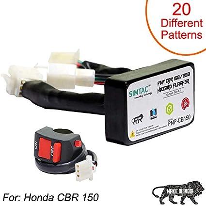 SIMTAC Hazard Flasher Module/Adapter for Honda CBR 150/ CBR