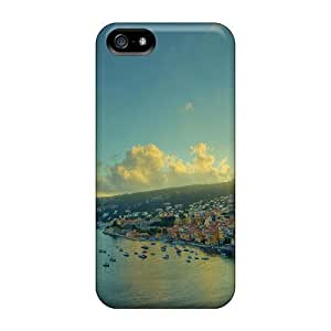 High-quality Durability Case For Iphone 5/5s(seaside City On A Hill)
