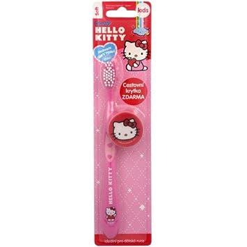 vitalcare Hello Kitty Cepillo de dientes para niño con estuche de viaje   Amazon.es  Salud y cuidado personal 42e2c7f8fd02