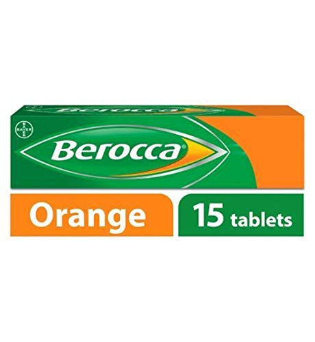 Berocca Orange - 15 effervescent Tablets - 2 Pack ()