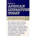 img - for [(Orature in African Literature Today)] [Author: Eldred Durosimi Jones] published on (September, 1992) book / textbook / text book