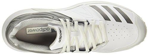da adidas adidas White Adipower Scarpe Vector Cricket SS18 Adipower wCv5qpFBOF