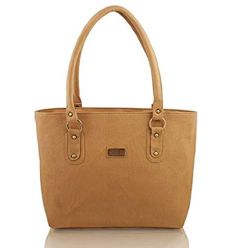 Bellina® Women's Handbag in Premium Leather (Bellina-311,Brown)