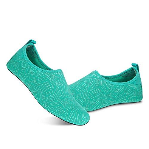 Quick Dry Barefoot Yoga Surf Shoes Swim Socks Shoes Socks MENG Jh green Men Women Aqua NING Water Beach for 1pzvYqn