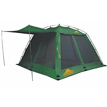 Image of Tents Alexika China House Alu 9159.0101 Tent Width 350 x Length 350 x Height 195 Green