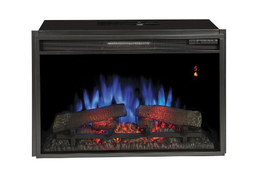 "ClassicFlame 26EF031GRP 26"" Electric Fireplace Introduce with Safer Plug"