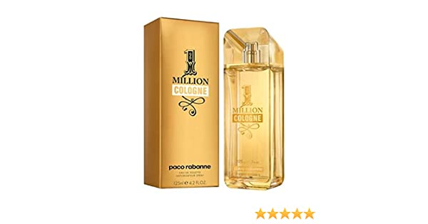 Paco Rabanne 1 Million Cologne agua de colonia Vaporizador 125 ml: Amazon.es: Belleza