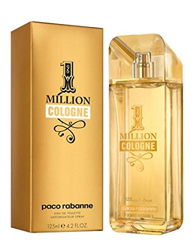Paco Rabanne 1 Million Cologne agua de colonia Vaporizador 125 ml