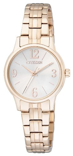 Citizen EX0293-51A - Reloj de cuarzo para mujer, con correa de acero inoxidable