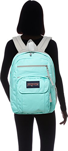 96f3c56b5c Jansport Mens Digital Student Back Pack Grey Rabbit Sylvia Dot One Size