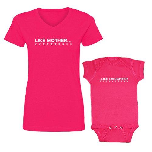 We Match! Like Mother Like Daughter Women's V-Neck