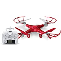 Alta Quadcopter Pro 6-Axis Gyro Rechargeable RC Drone with 2.4GHz Remote Control