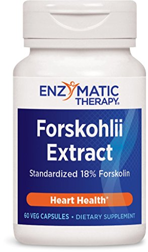 Enzymatic Therapy Forskohlii Extract Vegetarian Capsules, 60 (Cyclic Amp)