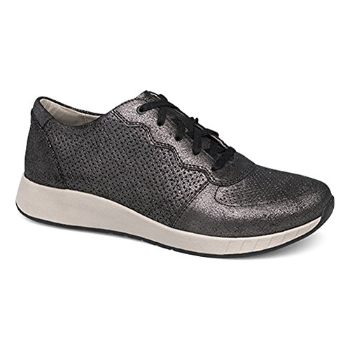 Dansko Kvinders Christina Lace-up Atletisk Sko Sort Metallic Ruskind 1qKMyCbmH