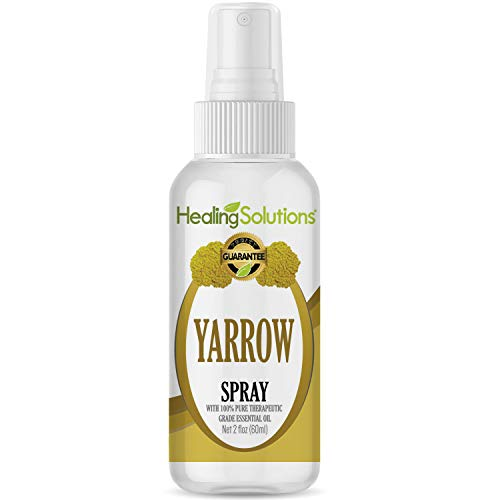 (Yarrow Spray - Made from 100% Pure Yarrow Essential Oil - 2oz Bottle by Healing Solutions)