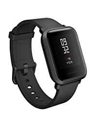 Amazfit Bip Youth Smart Watch GPS Real-time Heart Rate Monitor Bluetooth Sports Smart Watch [32g Ultra Light] [IP68 Water-Resistant] [45-Days Standby]