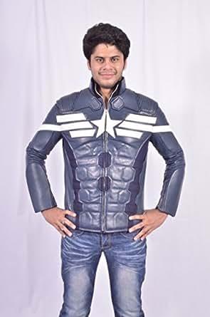 Amazon.com: Captain America Winter Soldier Jacket: Clothing