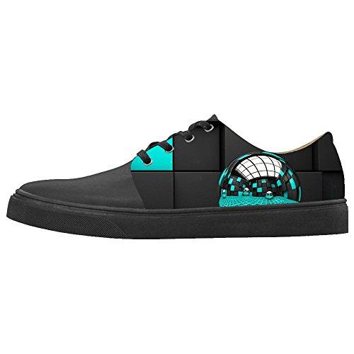Custom Stampa 3D stereoscopica Womens Canvas Shoes Le Scarpe Le Scarpe Le Scarpe.