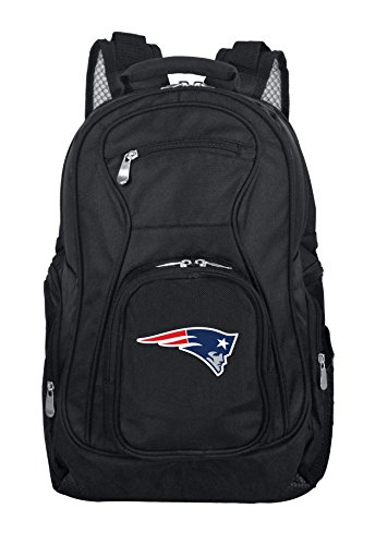 NFL New England Patriots Voyager Laptop Backpack, 19-inches