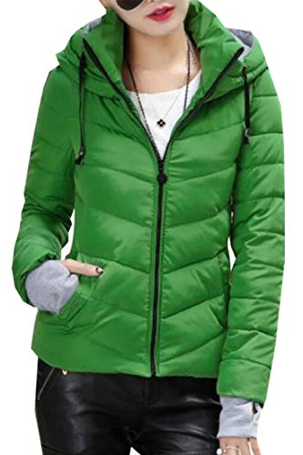 EKU Quilted Parka Stand Jacket Women's Cotton 5 Winter Coat Collar Down Warm 1wrqf1g