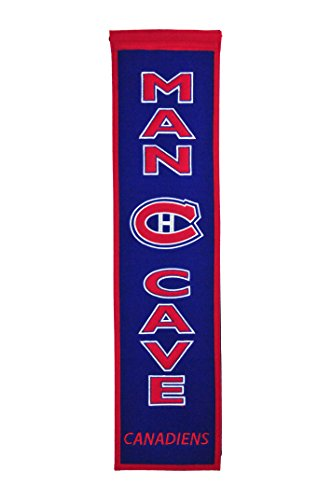 Winning Streak NHL Montreal Canadiens Man Cave Banner