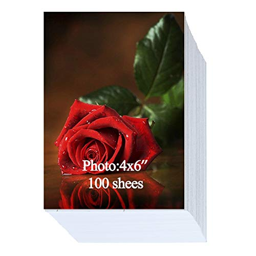 Glossy Photo Paper 4x6 inch 200gsm 100 Sheets ()