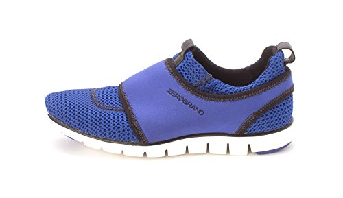 Black Low Top Fashion Sneakers Coraliesam Blue On Cole Womens Haan Slip Iqnvt