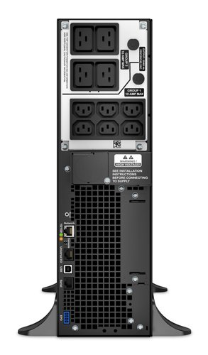 APC Smart-UPS SRT 192V 5kVA and 6kVA RM Battery Pack - Battery enclosure ( rack-mountable ) - 2 x lead acid - 3U - black - for P/N: SRT5KRMXLI, SRT5KXLI, SRT6KRMXLI, SRT6KXLI by APC