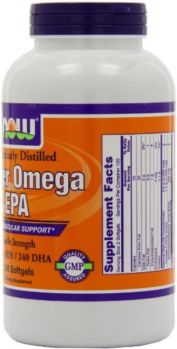 NOW Foods Super Omega EPA, 360 EPA/240 DHA Double Strength, 240 Softgels (Pack of 3) by NOW Foods (Image #4)
