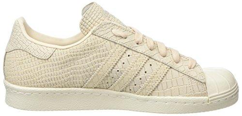 a Alto Sneaker Linen Donna 80s Linen Collo Beige White Off adidas Superstar BwXxp4nqEt
